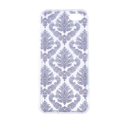 HYAIT® For IPHONE 5S/SE [XXG 17V2]Scratch-Proof Ultra Thin Rubber Gel TPU Soft Silicone Bumper Case Cover -BKI09