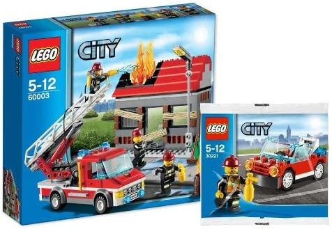 Lego City 60003 Bomberos Uso y 30221 Camión de bomberos – Set – 9120055083955: Amazon.es: Juguetes y juegos