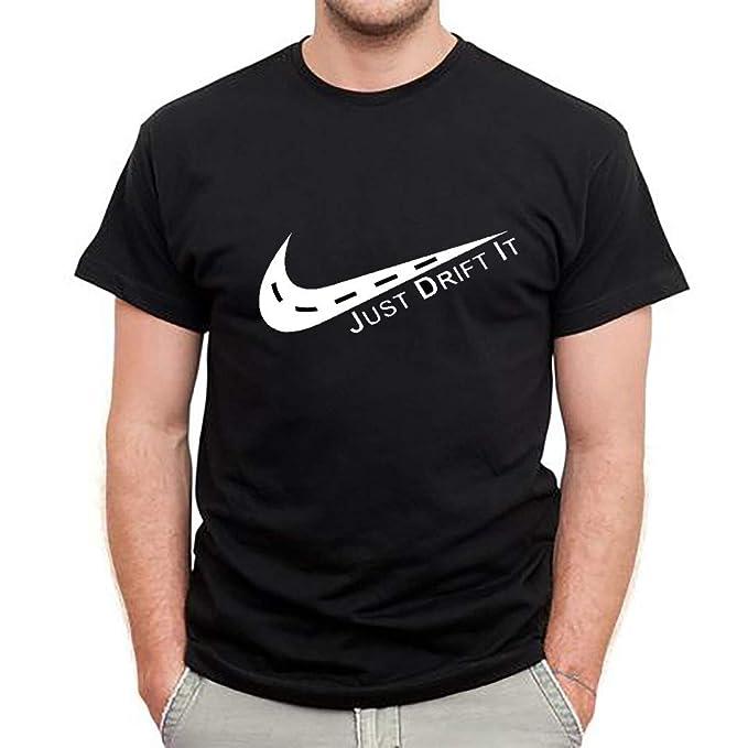 3608ab75 zakiii Just Drift It T Shirt (Black, Small)
