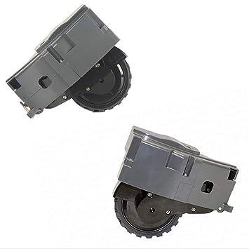 Ycncixwd - Kit de recambio de rueda derecha e izquierda para robot ...