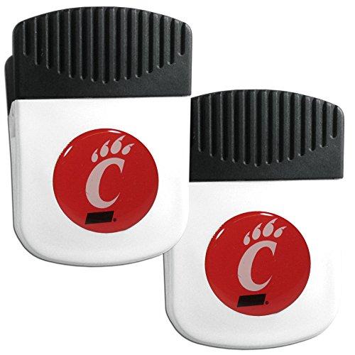 Siskiyou NCAA Cincinnati Bearcats Clip Magnet with Bottle Opener, 2 Pack (Bearcats Cincinnati Bottle)