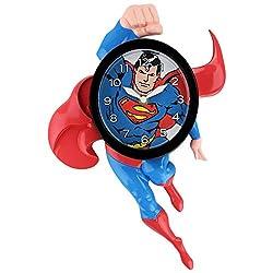 DC Comics SUPERMAN Classic 3D Motion Wall Clock