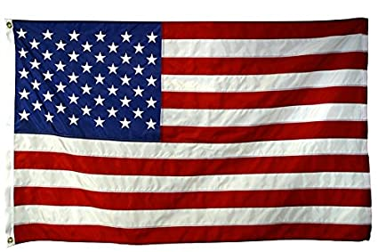 a5adc614d31 Amazon.com   American Flag 4x6-100% Made in USA Using Tough