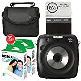 Fujifilm Instax SQUARE SQ10 Hybrid Instant Camera + Camera Case + Instax Square Film (20 Sheets)