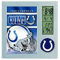 NFL Indianapolis Colts Digital Desk Clock