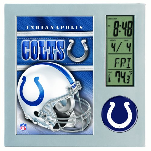 NFL Indianapolis Colts Digital Desk Clock