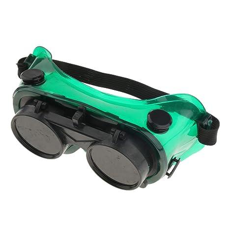 Sharplace Gafas de Soldadura Protector de Soldador Ajustable Herramienta de Laboratorio Material Trabajo