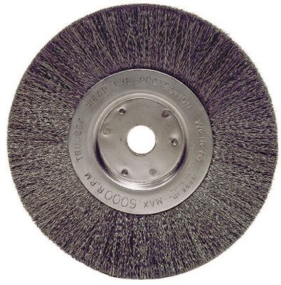 TrulockTM Narrow-Face Crimped Wire Wheels - tln-6 .006 ss 5/8-1/26in dia nar
