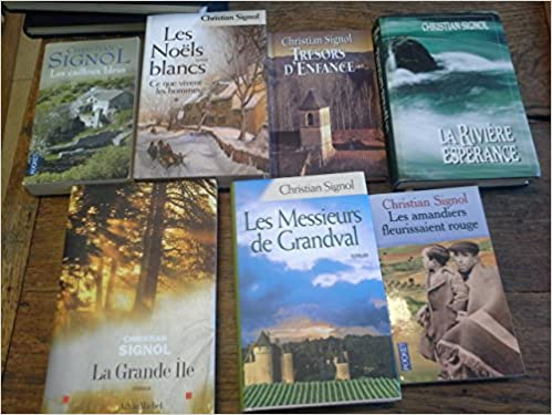 Amazon Fr Lot De 7 Livres De Christian Signol La Grande