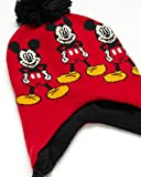 Disney Boys Mickey Mouse Winter Hat and 2 Pair