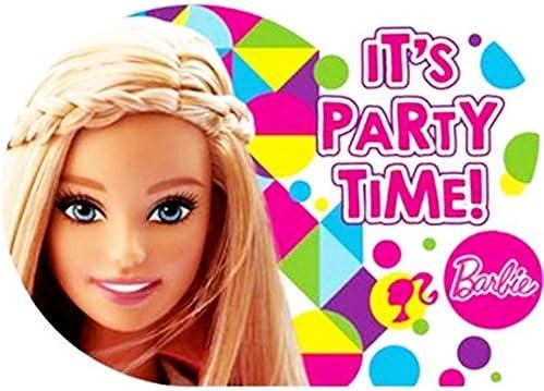Barbie 'Sparkle' Invitations w/ Env. (8ct)