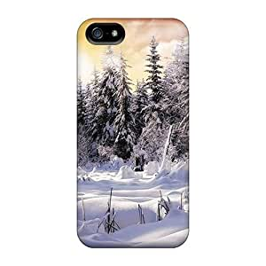 Ouj27034VVfA Ice And Snow For HTC One M7 Phone Case Cover Protective Cases