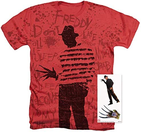 Nightmare on Elm Freddy T-shirt only in my dreams Horror Movie Fan Unisex T-shirt Made to Order