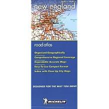 Michelin Regional Atlas New England, Atlas No. 99652, 1st