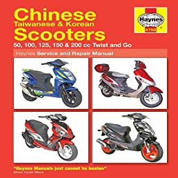chinese scooters service and repair manual  haynes service and repair manuals  amazon co uk haynes chinese scooter service & repair manual 4768 haynes chinese scooter service & repair manual