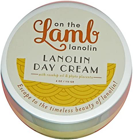 On the Lamb Lanolin Day Cream with Placenta and Royal Jelly