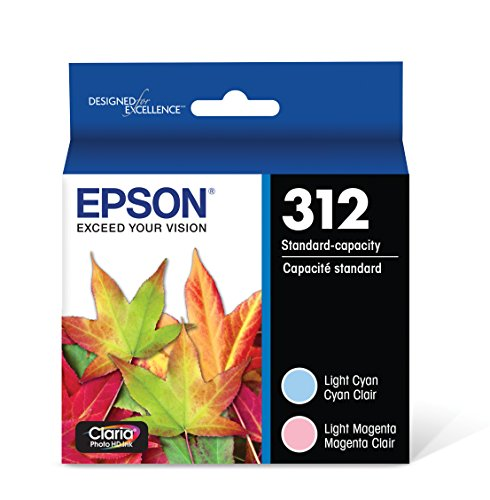 Epson T312922 Claria Photo HD Light Cyan/ Light Magenta Standard Capacity Cartridge Ink