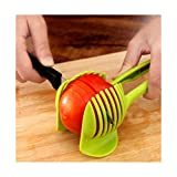 LingStar Potato Food Tomato Onion Lemon Vegetable Fruit Slicer Egg Peel Cutter Holder Kitchen Tool