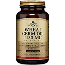 Solgar, Wheat Germ Oil 1130 mg 100 Softgels