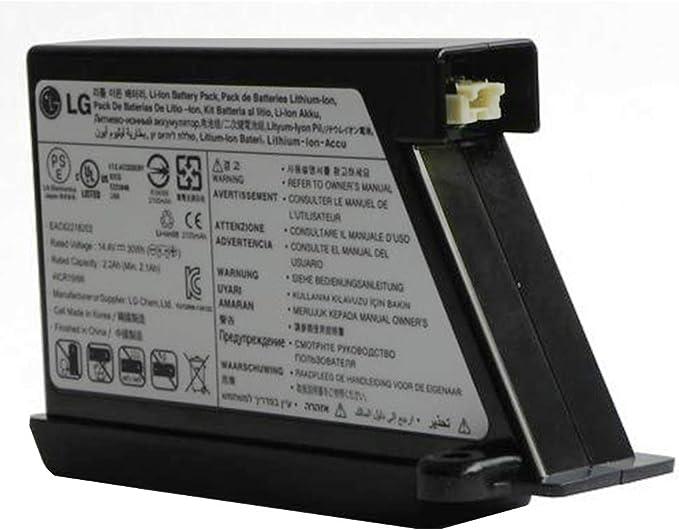 Bateria de aspirador Hombot Original LG VR5940L VR5940LB VR5940LR ...