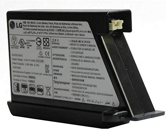 Bateria de aspirador Hombot Original LG EAC60766107 EAC60766108 ...