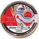 Peinture fard gras visage et corps - théatre 25 grs - Noir