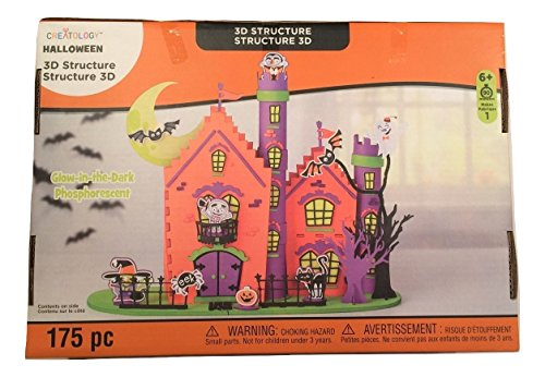 Creatology Halloween 3D Glow-in-the-Dark Activity Kit ~ Spooky Manor (175 Pieces)]()
