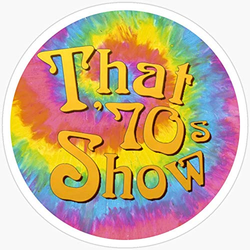 BeliNZStore That 70s Show Stickers (3 Pcs/Pack)