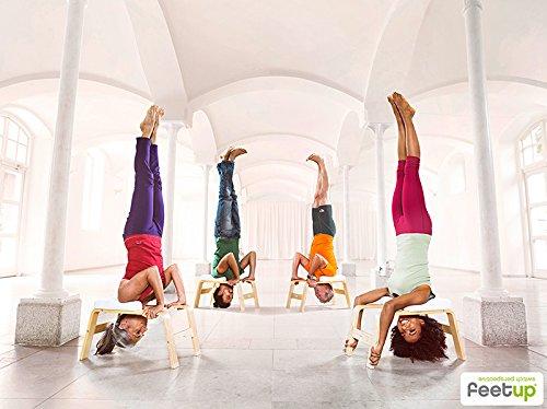 Feetup sgabello poggiatesta per yoga amazon sport e tempo