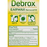 Debrox Earwax Removal Kit, Includes 0.5 oz Earwax