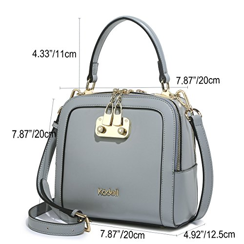 Ladies with Handbag Bags Blue Light Top Shopping Gray Shoulder Kadell Handle Clutches Strap Pink Women Fashion c1vCqawwp0