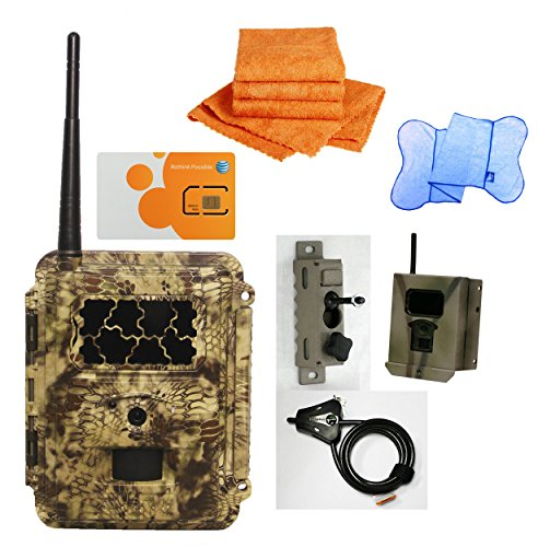 Spartan HD GoCam Deluxe Package Deal (2-year warranty) (AT&T, Blackout Infrared) by HCO Outdoor Products