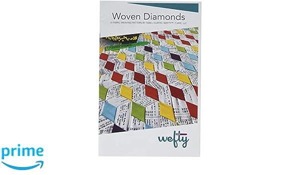 Wefty WEFT004 Woven Star Variants Ptrn