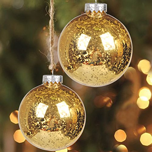 Ki store christmas ball ornaments outdoor hanging tree for Outdoor christmas tree ornaments