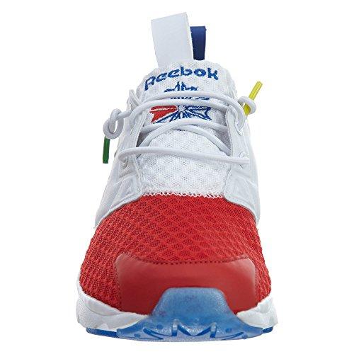 Reebok Mens Furylite Bf Fashion Sneaker White / Scarlet / Tmdrkroyal