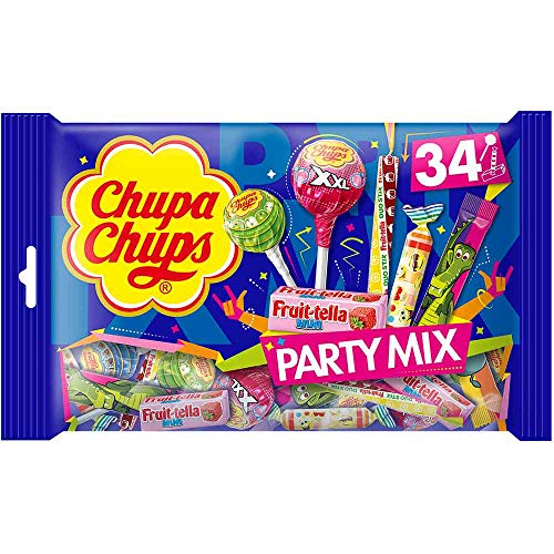 (Chupa Chups Party Mix 34 Pieces (400g) )