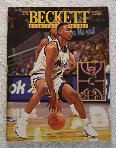 "Anfernee""Penny"" Hardaway - Orlando Magic - Beckett Basketball Monthly Magazine - #46 - May 1994 - Back Cover: Isaiah J.R. Rider (Minnesota Timberwolves)"