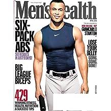 Men's Health Magazine April 2018 GIANCARLO STANTON NY YANKEE'S MVP, Six Pack Abs