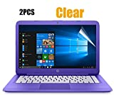 2PCS Pack 14-inch HD Clear Anti Scratch Screen Protector Film for HP Stream 14, HP Chromebook 14, Acer Chromebook 14 CB3-431 and More 14'' Laptop, Dispaly 16:9 (2-Piceces/Pack)