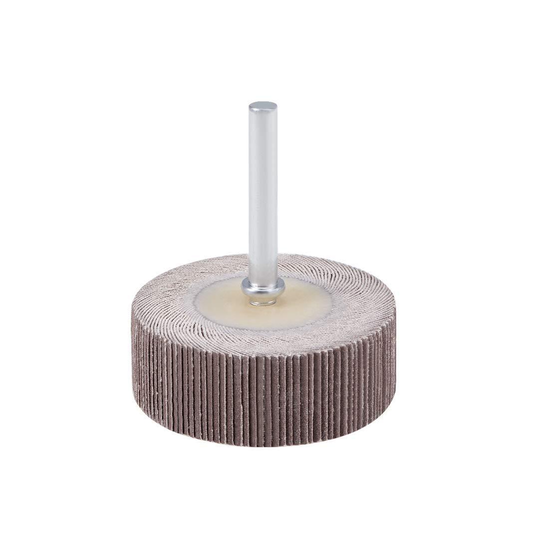 Flap Wheel 50mm x 20mm 240 Abrasive Grain grit with 1//4axle