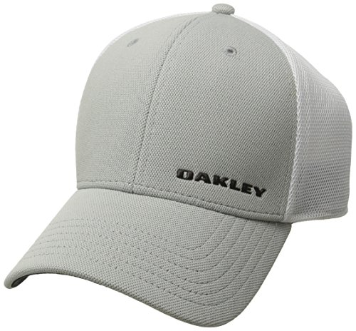 Oakley Men's 4.0 Silicon Bark Trucker, Grey, - 1 4 Oakley