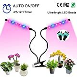 Grow Light, Auto ON & Off Every Day with Two-Way Timer Growing Lamp