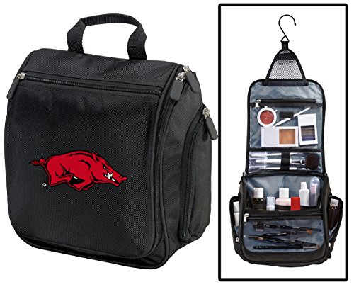 University of Arkansas Toiletry Bags Or Hanging Arkansas Razorbacks Shaving Kits ()