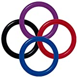 Bewild Brand Package Of 5 COLOR Cock Rings - Don't be fooled by cheap imitators. Longer Harder Erections, Better Sex Immediately