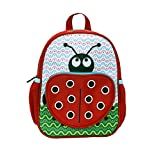 Rockland Jr. My First Backpack, Ladybug, One Size