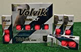 3 Dozen Volvik Vivid XT Matte Pink Golf Balls - New in Box