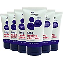 Mountain Falls Baby Healing Ointment for Diaper Rash, Compare to Aquaphor, 3 Ounce (Pack of 6)