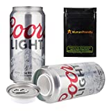 Coors Light Beer Diversion Safe Stash Can 12 oz w HumanFriendly Smell Proof bag