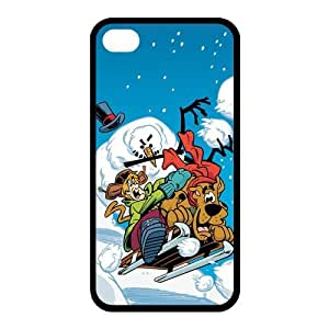 Customize Cartoon Scooby Doo Back Case for iphone 4,4S JN4S-1542