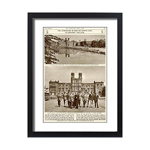 Framed 24x18 Print of The education of British Youth Stonyhurst College (4409668) by Prints Prints Prints